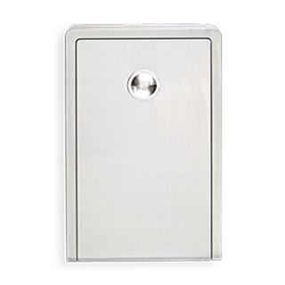 Surface Mount Stainless Steel Vertical Baby Changing Station