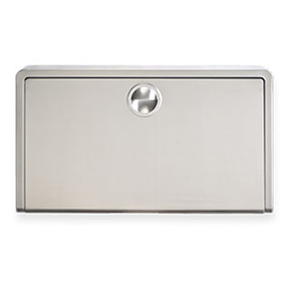 Surface Mount Stainless Steel Horizontal Baby Changing Station