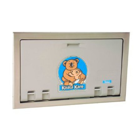 Horizontal Recessed Baby Changing Station