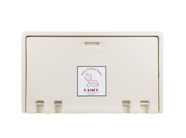GAMCO Horizontal Wall Mounted Baby Changing Station
