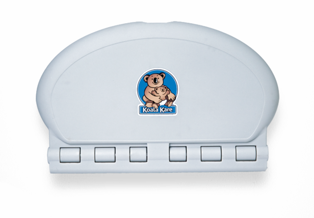 Koala Oval Wall Mounted Baby Changing Station